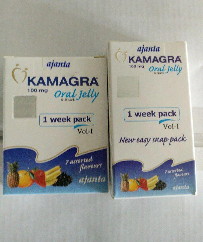 Kamagra Oral Jelly - ORIGINAL 2014 / 2015 vs 2016
