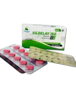 Sildelay - Sildenafil si dapoxetina 160mg 2 in 1