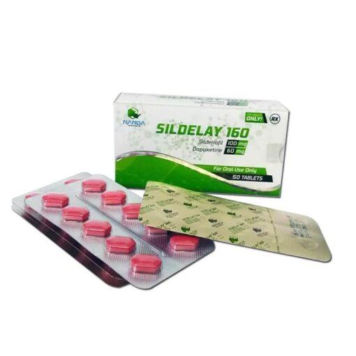 Sildelay - Sildenafil si dapoxetina 160mg 2 in 1
